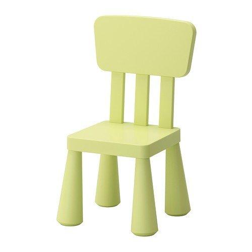 IKEA-MAMMUT-Kinderstuhl-in-hellgrn