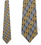 Saints Ties Silk Mens NeckTies