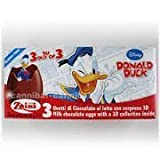 1 x Zaini Disney Donald Duck chocolate egg - 3 per box- Made in ITALY by N/A
