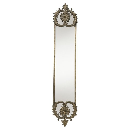 Kichler Lighting 78123 Baroness 74.25-Inch Mirror, Antique Washed Charcoal Frame With Silver Highlights front-944638