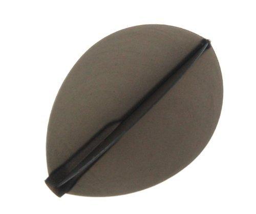 COSMO DARTS Fit Flight Teardrop Black (6 Pack)