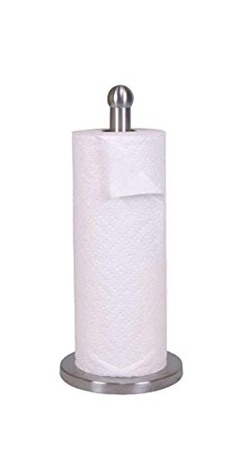 Home Basics Stainless Steel Paper Towel Holder (1, A)