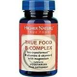 Higher Nature True Food B Complex 90 Tablets - CLF-HN-TBC090