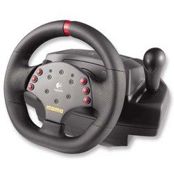Logitech 963282-0403 MOMO RACING FORCE FEEDBACK WHEEL/STK RUBBER SHFT/RACING PEDAL