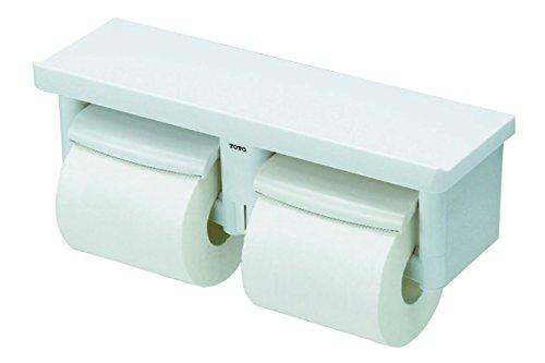 TOTO 二連紙巻器 棚付き(樹脂) 樹脂製 ホワイト YH60N#NW1