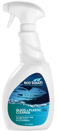 Eco Touch (GCL24) Premium Marine Care Glass + Plastic Cleaner - 24 oz.