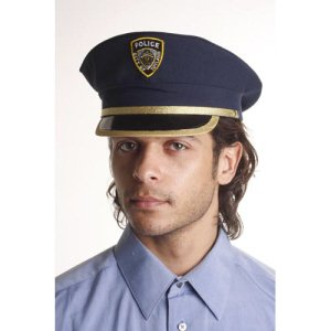 Police Hat Adult Costume Accessory