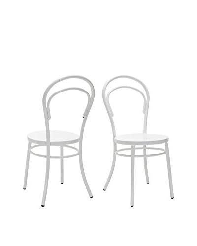 Safavieh Gatria Side Chair, White