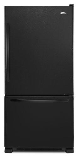 Amana 21.9 cu. ft. Bottom-Freezer Refrigerator, ABB2224WEB, Black