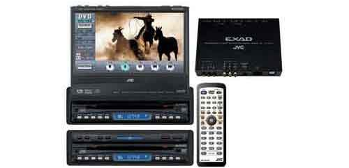 "Jvc Kd-Av7010 7"" In-Dash Touchscreen Motorized Dvd Player W/ 5.1 Channel Dolby Digital / Dts Decoder Built In"
