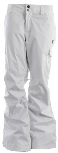 Burton Mesa Cargo Snowboard Pants Bright White Womens Sz XL