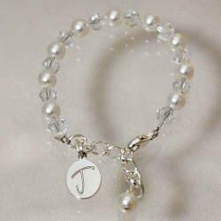 Engraved Godchild Gifts Bracelet