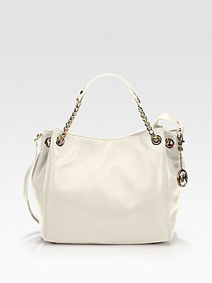 Michael Kors Jet Set Medium Gathered Shoulder Tote