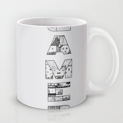 Society6 - Gamer 2 Coffee Mug By Angela Felan