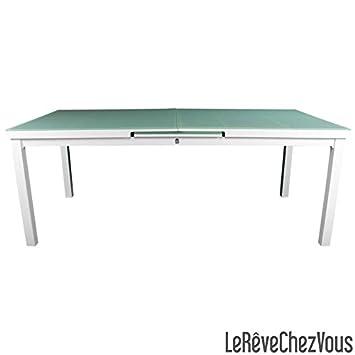 Table ALGA avec rallonge intégrée 200-250 x 100 cm ( - fr-shop
