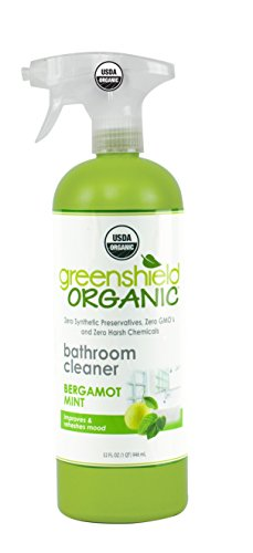 Greenshield Organic, Usda Organic Bathroom Cleaner, 32-Ounce