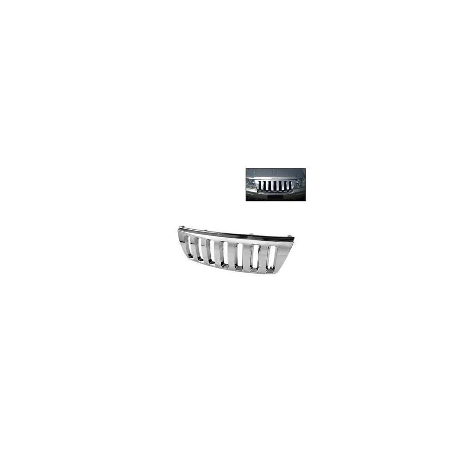 99 04 Jeep Grand Cherokee Chrome Front Grille