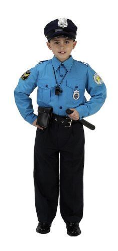 Aeromax Jr. Police Suit, 8-10 front-1005360
