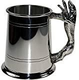 Great Gifts UK- Greyhound Pewter Tankard - H:115mm Base dia: 115mm