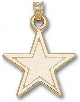 Bargain dallas cowboys 14k gold star 3 4 pendant p274pp dallas cowboys 14k gold star 34 pendant aloadofball