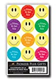LDS Acid-free Spanish Primary Makes Me Happy! 72 Stickers - 12 Stickers Per Page, 6 Pages