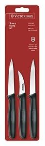 Victorinox 3-Piece Stainless-Steel Paring-Knife Set