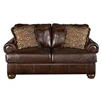 Big Sale Rustic Walnut Axiom Loveseat