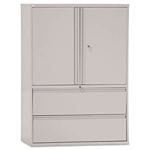 ALELA564219LG - Best Two-Drawer Lateral File Cabinet With Storage