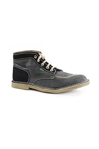 Kickers Suede Mid Shoes mod. Original-M Color Antracite/Nero EU43