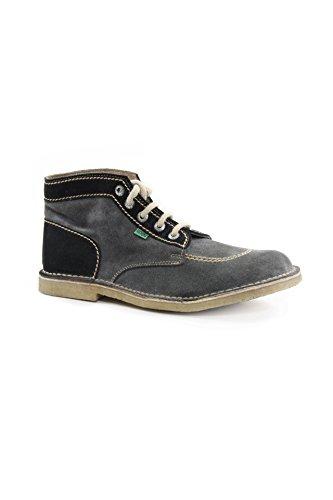 Kickers Suede Mid Shoes mod. Original-M Color Antracite/Nero EU43