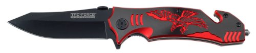 Tac Force Tf-806Br Assisted Opening Knife, 4.75-Inch Closed