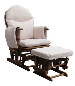 Habebe Glider Rocking Nursing Maternity Recliner Chair With Footstool WITH