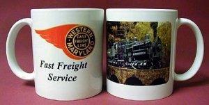 Coffee Mug - Western Maryland Shay (#1)
