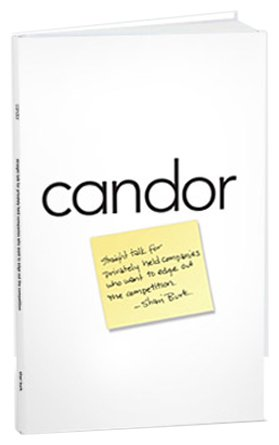 Candor: Straight talk for companies that want to edge out the competition PDF
