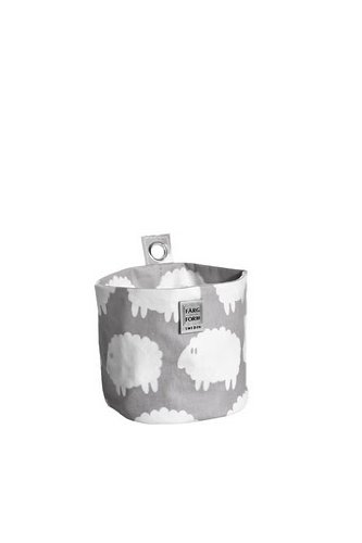 Farg Form Lamb Round Storage (Small, Grey)