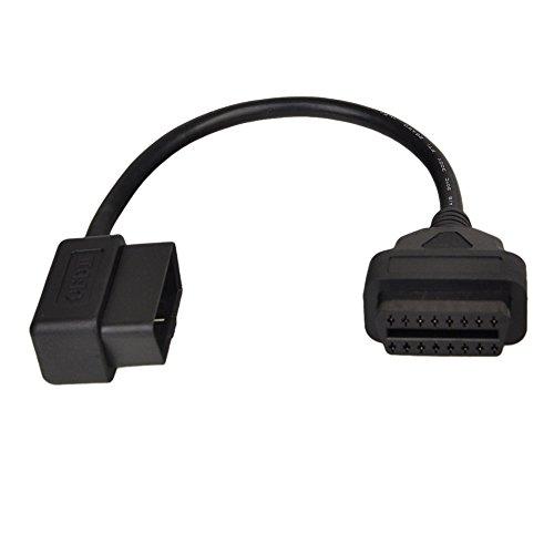 OBD 2 16Pin Stecker auf Buchse Extension ELM327 Diagnostic Scanner Auto Verlängerungskabel 30cm
