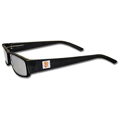 MLB Black Reading Glasses, +2.00, San Francisco Giants