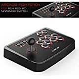 Honcam Arcade Fighting Stick JoyStick for PS4 PS3 PC & SWITCH