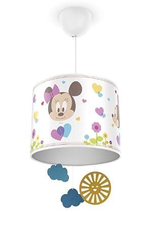 Philips e Disney, Lampadario Sospensione LED, Paralume con Pendenti ...