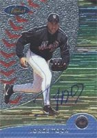 Jorge Toca Norfolk Tides - Mets Affiliate 2000 Topps Finest Autographed Hand Signed... by Hall of Fame Memorabilia
