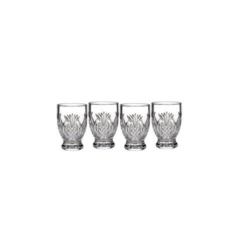 Pineapple Hospitality Single Malt Glass (Set Of 4) By Waterford