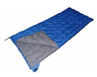 Ozark Trail 1.5Lb/50F Warm Weather Rectangular Sleeping Bag: Blue front-607360