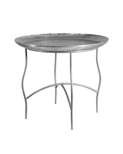 Donny Osmond Home Steel & Aluminum Coffee Table, Silver