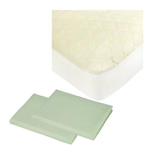 Mini Crib Mattress Pad front-1049234