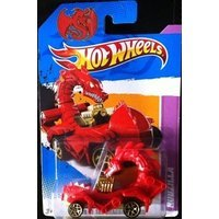 Toy Game RED RODZILLA Hot Wheels 2012 Year Of The