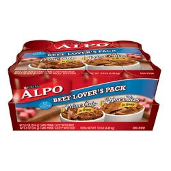 Alpo Prime Slices In Gravy Beef Lovers Variety Pack Canned Dog Food (12/13.2-oz cans)