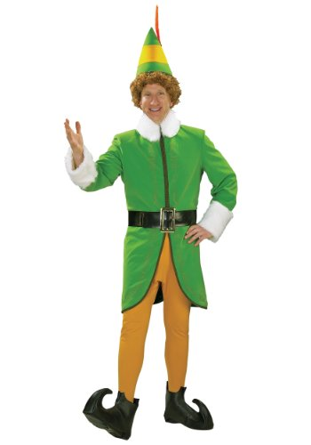 Rubie's Buddy the Elf Deluxe Costume - Adult 25540 - Xl