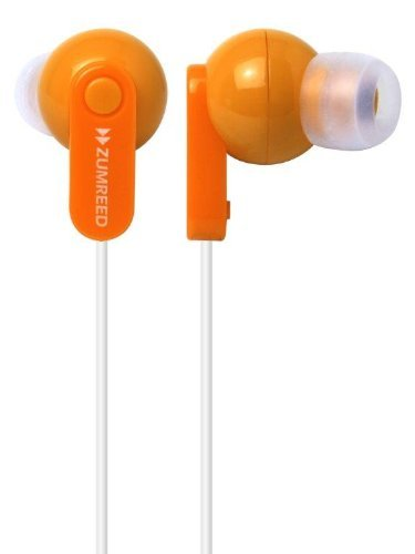 Zumreed Zhp-017 Canty Colorful Stereo Earphones, Orange