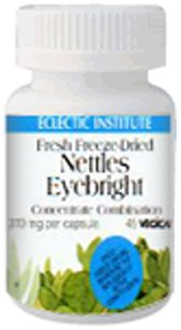Nasal Support Nettles Eyebright Freeze-Dried Eclectic Institute 45 Vcaps
