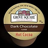 Grove Square DARK CHOCOLATE Hot Cocoa - 12 k-cups